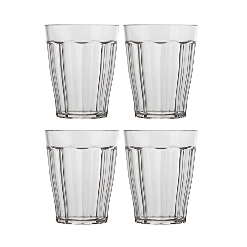 8 Ounce Room Tumbler (Rhapsody 8-ounce Plastic Tumblers | set of 8 Clear)