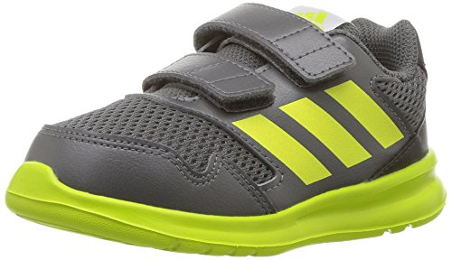 adidas  Kids' Altarun, Grey Five/Semi Solar Yellow/Core Black, 9 M US Toddler