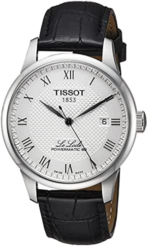 Tissot Men's Le Locle Stainless Steel Dress Watch Black T0064071603300