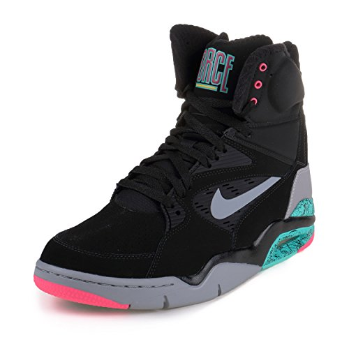 Nike Air Command Force Mens Basketball Shoes 684715-001 Black 10 M US