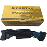 Start-X Remote Starter For Ford F150 F-150 2015-2019, F-250 17-19, Ranger 2019, Expedition 18-19, Edge 15-19,Fusion 14-19 (NO HONK-LOCK-UNLOCK-LOCK)