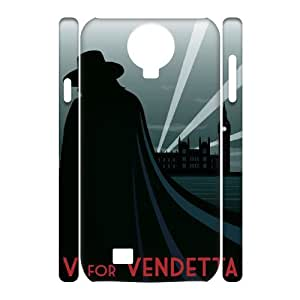 TOSOUL V for Vendetta 3 Phone 3D Case For Samsung Galaxy S4 i9500 [Pattern-5]