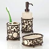 iDesign Vine Ceramic Liquid Lotion Dispenser