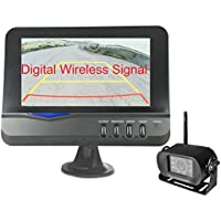 4Ucam Digital Wireless Camera + 7 Monitor for Bus, RV, Trailer, Motor Home, 5th Wheels and Trucks Backup or Rear View