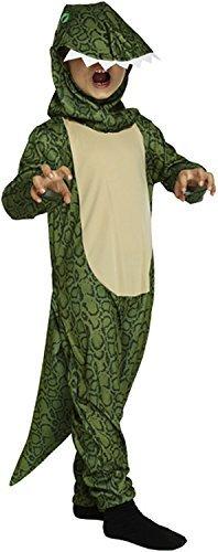 B&S Trendz Childs Green Dinosaur Godzilla T-Rex Onesie Fancy Dress Book Week Costume #Medium 7-9