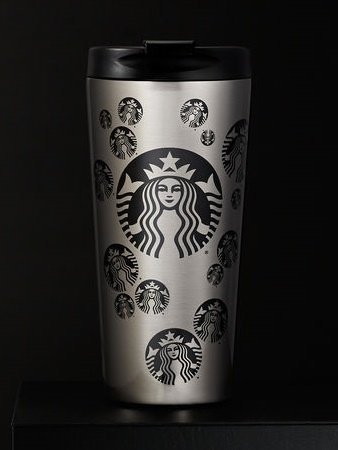 Starbucks North America limited Siren dot stainless steel tumbler, 16fl oz Gift Box [parallel import goods] by Starbucks
