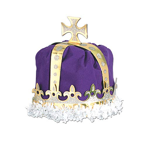 Royal King's Crown (purple) Party Accessory  (1 count)