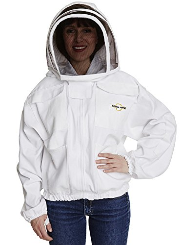Beekeeping Jacket - White - Protection for Beekeepers