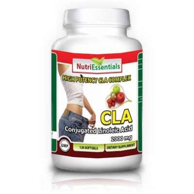 Nutri Essentials acide linoléique conjugué (CLA) 1000 mg 120 gélules