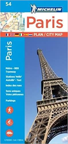 Michelin Paris Street Map Index Map Michelin City Plans - Paris street map with metro stations