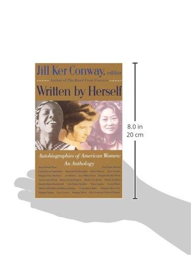 written by herself volume 2 conway jill ker