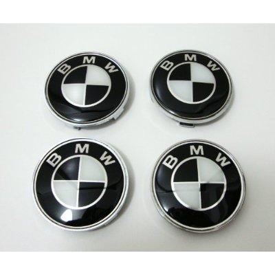 bmw wheel caps black - 2