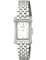 Bulova Womens 96R186 Analog Display Analog Quartz Two Tone Watch