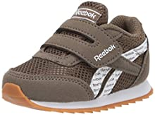 Reebok Boys Royal Cljog 2 KC Sneaker, Army Green/White/Gum, 7.5 M US Infant