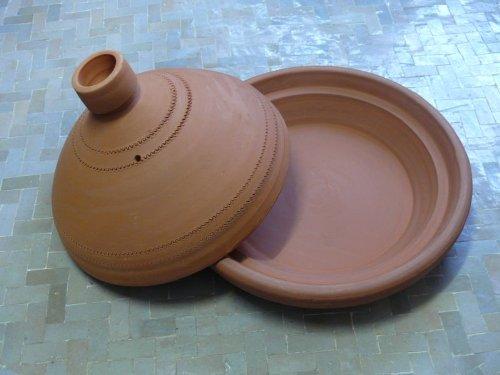Marokkanische Tajine aus Ton