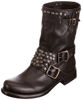 Innovative Lotus Lorie   Womenu0026#39;s Slouchy Short Boots In Black Leather   Mozimo