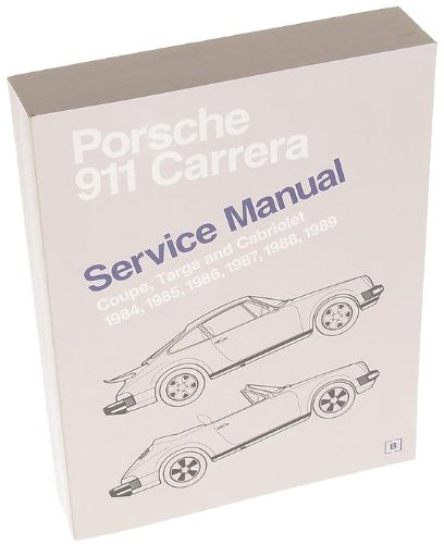 Amazon.com: Bentley Paper Repair Manual Porsche Carrera 1984-89: Automotive