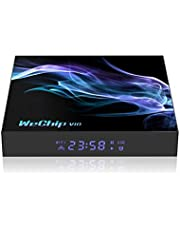 Lipa V10 Tv Box 4/32 GB Android 10 / Mediaplayer met Kodi, Netflix en Playstore / 6K en 4K decoder/Apps via Playstore en internet/Wifi en ethernet/Dolby geluid/Met Kodi, Netflix, Disney+ en meer