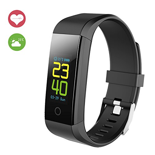 Astonlink Fitness Tracker, Upgraded Color Screen Fitness Watch Activity Tracker with Heart Rate Monitor Sleep Monitor, Step Calorie Counter Pedometer Multi Sport Modes Smart Bracelet