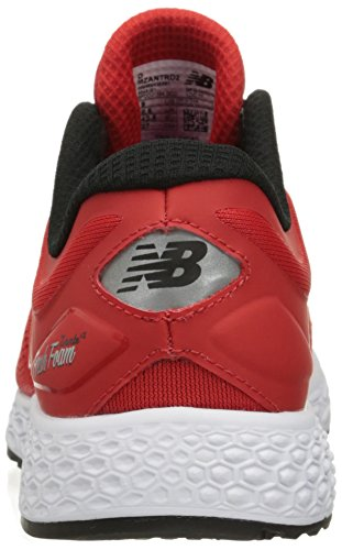 New Balance Mens Fresh Foam Zante v2 Running Shoe Red/Black