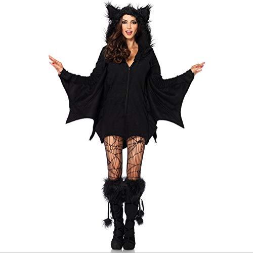 Halloween Costume Ladies Nightclub Halloween Costume Sexy Ladies Party Gown Adult Costume Superman Warrior Costume,L]()