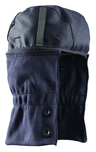 Length Hard Hat Liner - Flame Resistant Shoulder Length Winter Liner with Zipper Collar FR