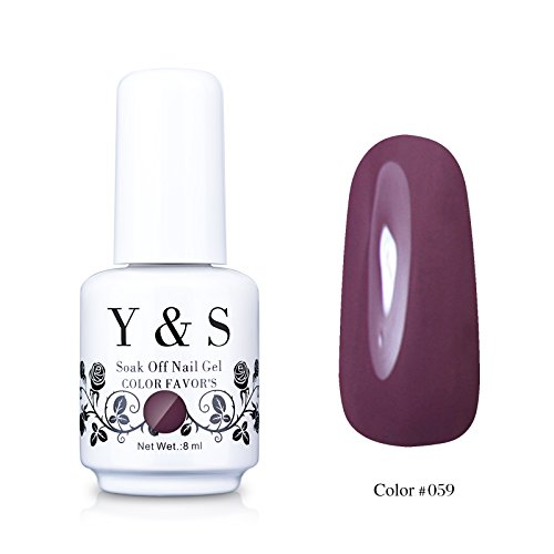 Yaoshun Gelpolish, Soak-off  UV LED Nail Art/Beauty Care Ros