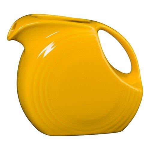 Homer Laughlin 484-342 Large 67 1/4 oz Disc Pitcher, Daffodil