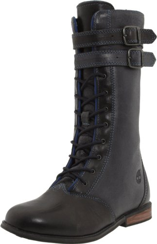 Timberland Brixham Tall Lace Boot With Side Zip (Toddler/Little Kid/Big Kid) - stylishcombatboots.com