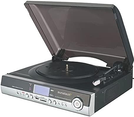 Sunstech SUNPXR1 - Tocadiscos para equipo de audio: Amazon ...