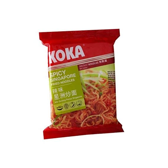 KOKA Signature Spicy Singapura Noodles(85g x 4 Packs)