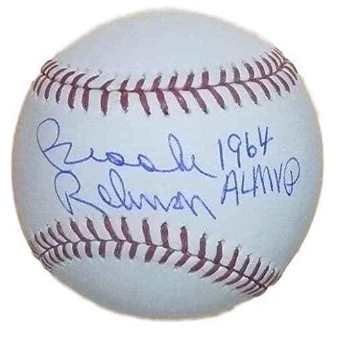 Brooks Robinson Autographed Signed Memorabilia Official MAJor League Baseball 1964 Al Mvp JSA 12926 1964 Al Mvp Autographed Baseball
