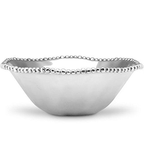 Lenox Organics Metal Round Bowl - Bowl Bead Round