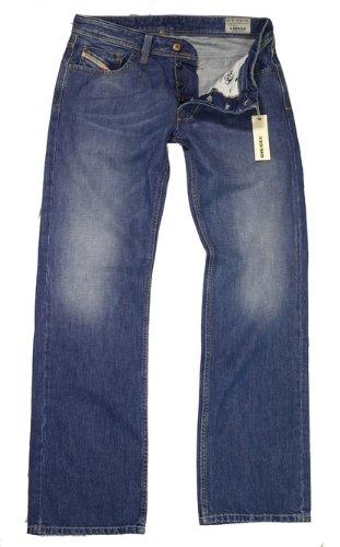 Diesel herren jeans hose larkee blue wash 0810j