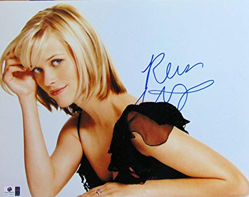 Reese Witherspoon Signed Autographed 11X14 Photo Sexy Short Hair - Signed Reese Witherspoon