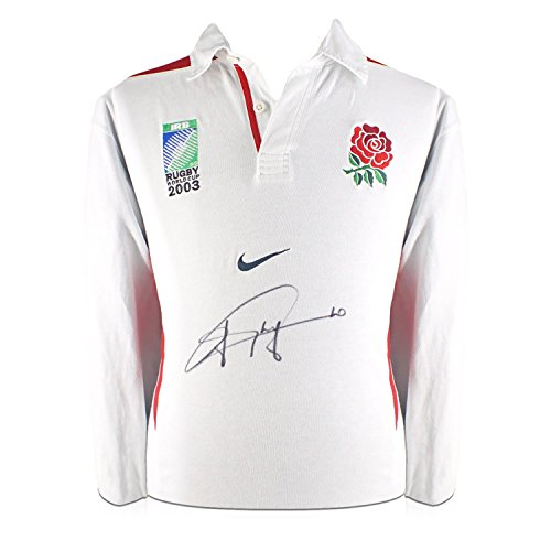 Jonny Wilkinson Signed World Cup 2003 England Rugby Shirt Jersey