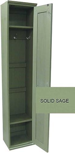 Sawdust City 111daStorage Locker Cabinet, Solid Sage