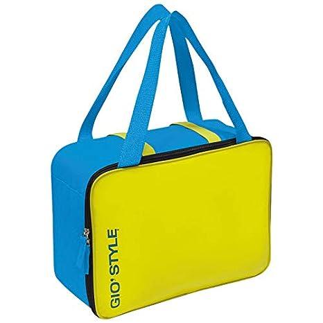 02ae7c9c6f giostyle Borsa termica capacità 15, 5 litri borsa frigo mare spiaggia Lime  Cool Bag Gio