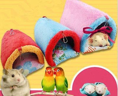 FidgetGear Warm Hammock House for Rabbit/Guinea Pig/Ferret Small Animals Toy Hanging Bed L from FidgetGear