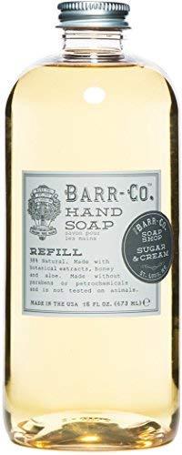 (Sugar and Cream Liquid Soap Refill)