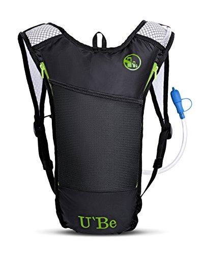 e0e7b897d2 U`Be Hydration Camelback Water Pack Backpack - Kids Women Men Hiking Biking  Running Bag