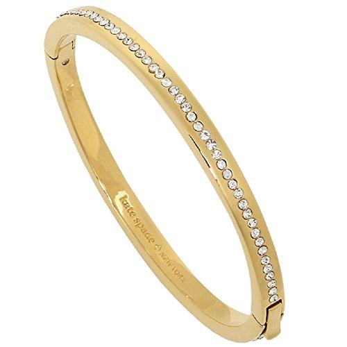 (Kate Spade Ring It Up Pave Bangle Bracelet Gold/Clear )