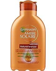 Garnier Ambre Solaire Latte Autoabbronzante Natural Bronzer, Crema Idratante Viso e Corpo, Colorito Luminoso e Risultato Naturale, 150 ml, Confezione da 1
