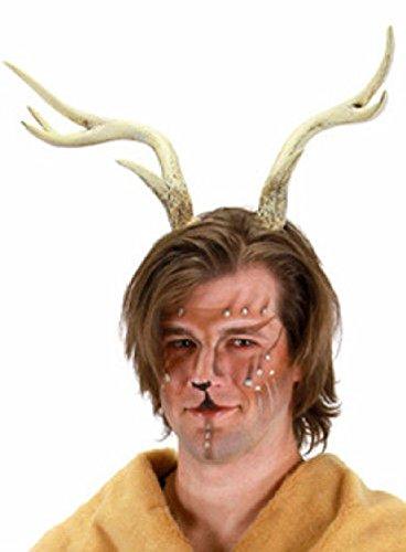 Costume Stag Deer (OvedcRay Deer Moose Elk Rudolph Reindeer Costume Antlers Horns Buck Stag Forest)