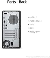 RJ-45 LAN Hexa-Core up to 4.10 GHz GeForce GTX 1660 Ti 6GB GDDR6 HP Pavilion Gaming Desktop Core i5-9400F Win 10 USB-C Wi-Fi DVD-RW 256GB SSD Bluetooth 16GB RAM