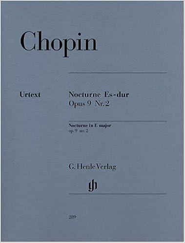 Ipad télécharger epub ibooks Nocturne Op.9/2 Mib Maj. - Piano B000E97W3U in French PDF ePub iBook