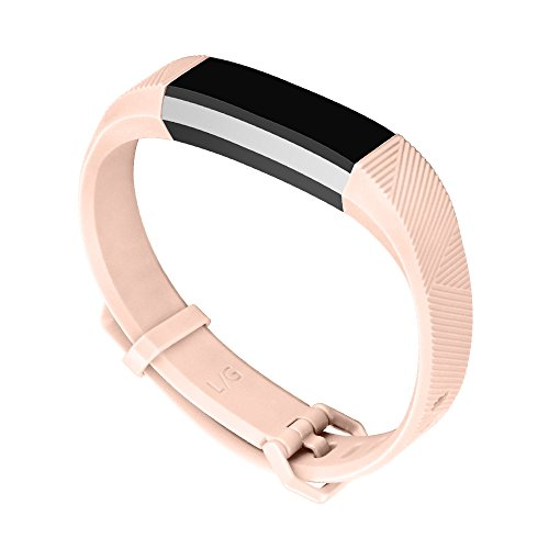 Fitbit Alta Bands, UMTELE Soft Replacement Wristband with Metal Buckle Clasp for Fitbit Alta Smart Fitness Tracker
