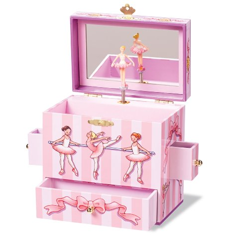 Enchantmints Ballet Class Musical Jewelry Box
