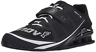 Inov-8 Men's Fastlift 325 Weightlifting and Fitness Shoe, Black/White, 8 D US