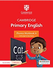 Cambridge Primary English Phonics Workbook A with Digital Access (1 Year)